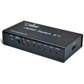 HDMI Switch 5x1 CosmoSAT HDSW0501M (HDMI 1.3b и до 1080р, 10.2Gbps)